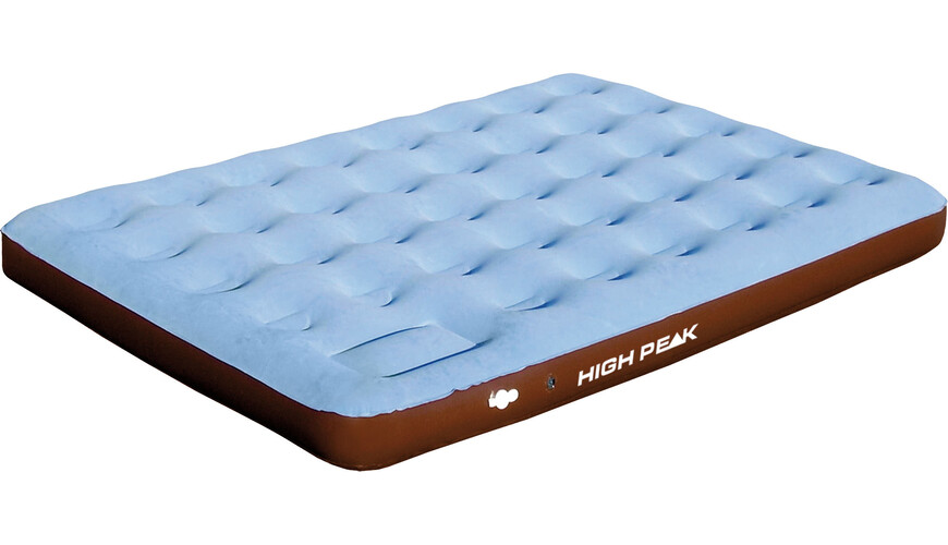 High Peak Comfort Plus Extra Long - Catres - Double marrón/azul